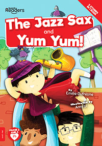 Buy BookLife Readers: Level 2 (Red) The Jazz Sax and Yum Yum! from BooksDirect