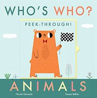 Who's Who? Peek-through! Animals