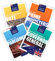 Democracy and the Australian Government - Set of 4