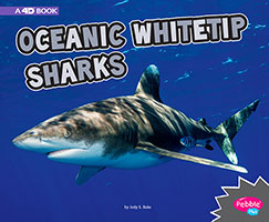 All About Sharks: Oceanic Whitetip Sharks A 4D Book