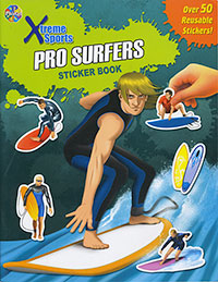 Extreme Sports: Pro Surfers Sticker Book