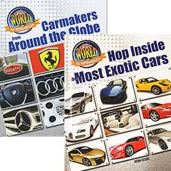 The World of Automobiles - Set of 5