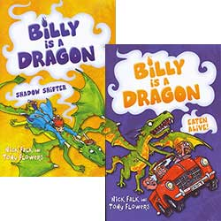 Billy is a Dragon - Set of 4