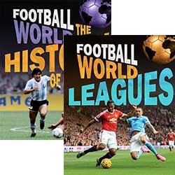 Football World: Set of 4 Books