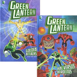 Buy Green Lantern: Set of 4 Books from BooksDirect