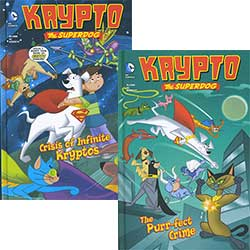 Krypto the Superdog - Set of 6
