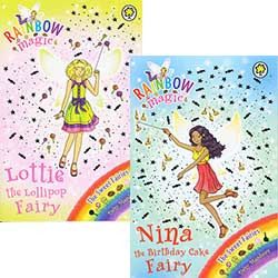 Buy Rainbow Magic - The Sweet Fairies - Set of 7 from BooksDirect