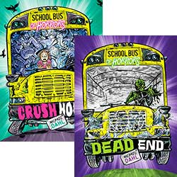 School Bus of Horrors: Crush Hour - Set of 6