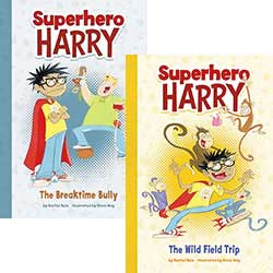 Superhero Harry: Set of 4 Books