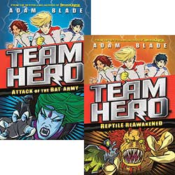 Buy Team Hero: Set of 4 Books from BooksDirect