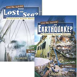 Buy You Choose: Survival - Set of 4 from BooksDirect