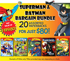 Superman and Batman Bargain Bundle 20 Books